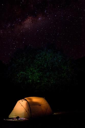 Camping trekking Perú