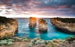 Formación rocosa en la Great Ocean Road, Australia