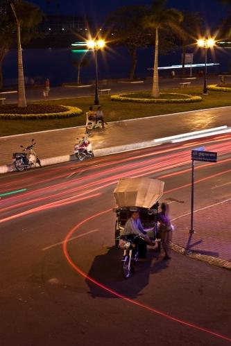 Tuc-tuc Camboya Phnom Penh