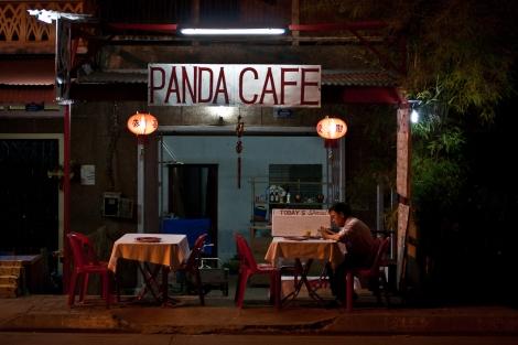 Panda Café, Pakse, Laos