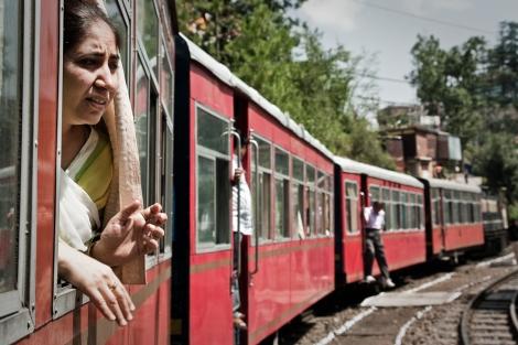 Tren a Shimla