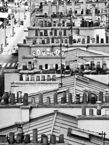 Tejados Paris