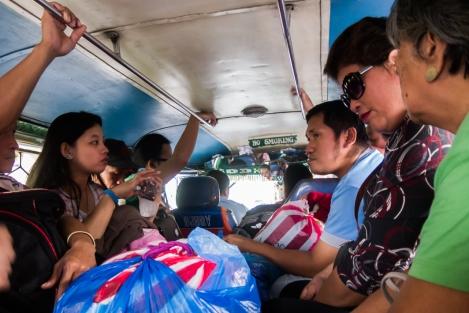 Jeepney en Manila