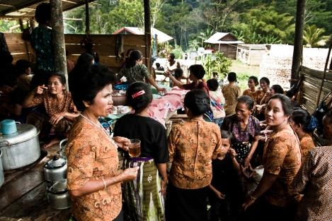 Funeral en Tana Toraja Indonesia