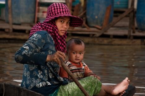 Lago Tonle Sap, Camboya