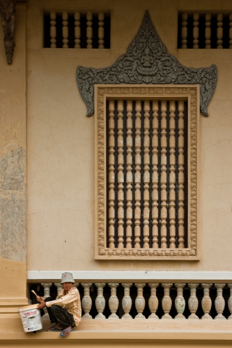 Templo en Phnom Penh