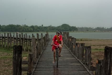 U Ben's Bridge, Amarapura, Myanmar