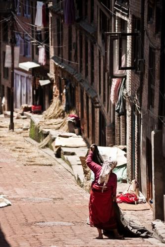 Patan, en el Valle de Kathmandu, Nepal