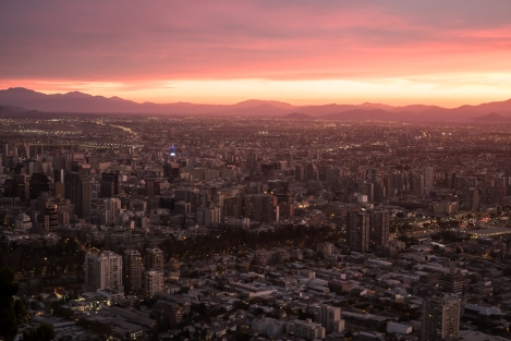 Cerro San Cristóbal, Santiago de Chile