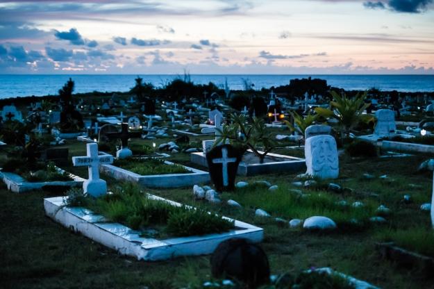 Isla de Pascua cementerio