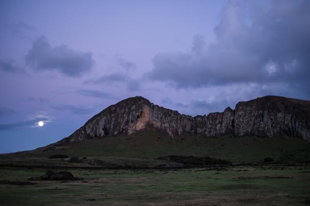 Isla de Pascua Rano Raraku