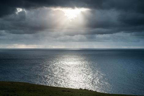 Isla de Pascua océano