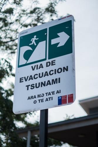 Isla de Pascua tsunami