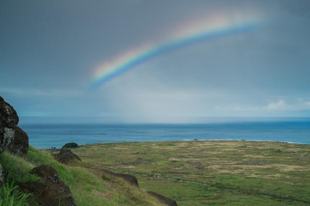 Arco Iris Isla de Pascua