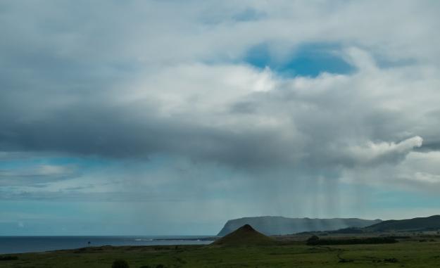 Isla de Pascua lluvia