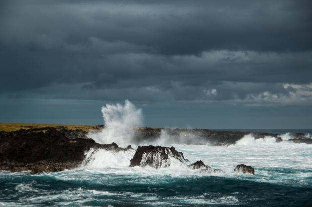 Isla de Pascua olas