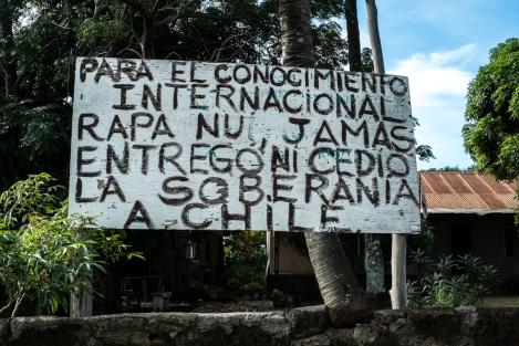 Isla de Pascua soberanía