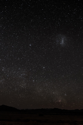 Fotografía nocturna Namib
