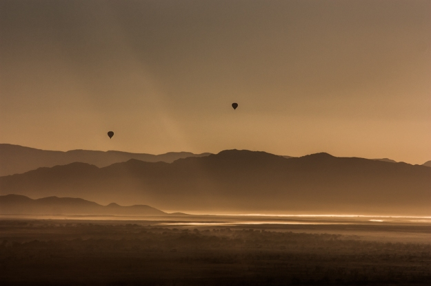 Globos Amanecer Duna 45 Namibia