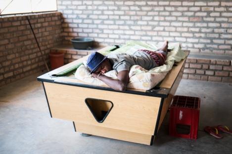 Palmwag Namibia durmiendo