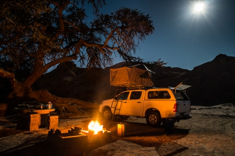 Weltwitschia camping, Namibia