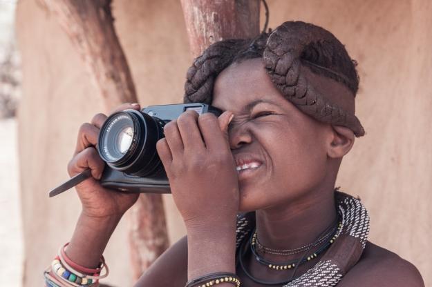 Himba fotografía