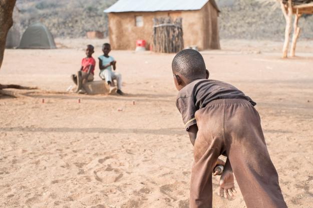 Niños Herero Namibia