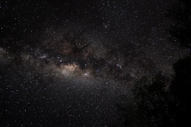 Vía Láctea Kavango Panhandle Botswana