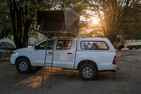 Camping Botswana