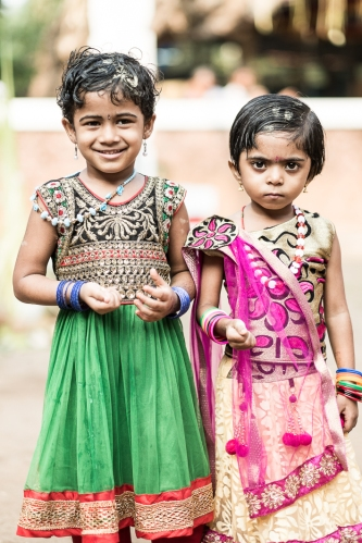niñas Theyyam
