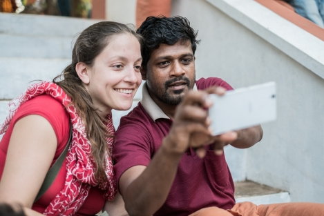 Selfie Theyyam