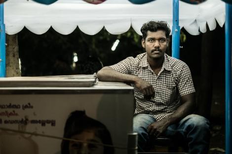Vendedor de helados Kerala