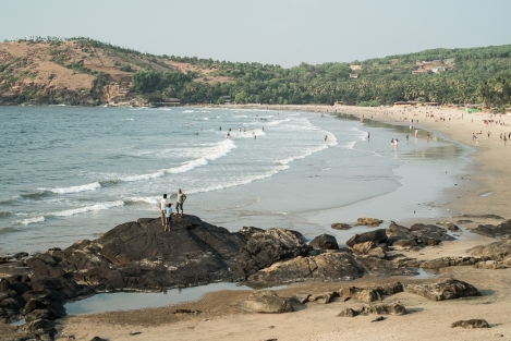 Kudle beach, Gokarna, India