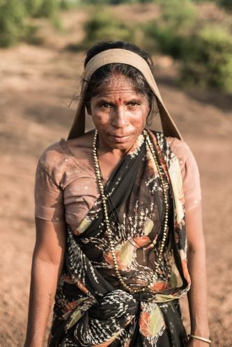 Mujer Gokarna, India