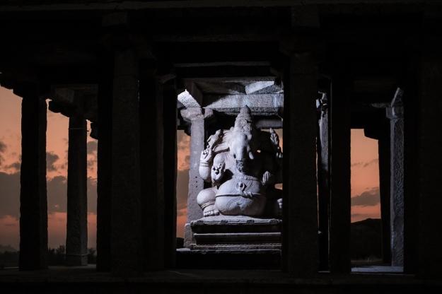 Ganesha, Hampi, India