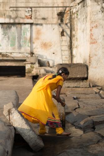 Virupaksha, Hampi, India