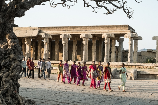 Templo, Hampi, India