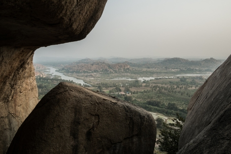 Hanuman temple, Hampi, India