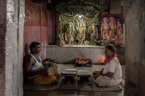 Templo de Hanuman, Hampi, India