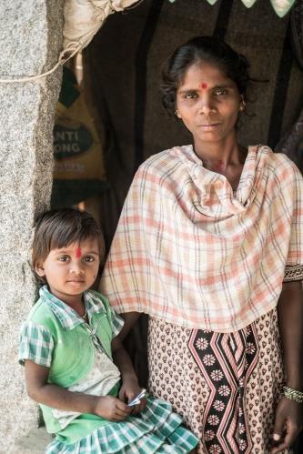 retrato Hampi, India