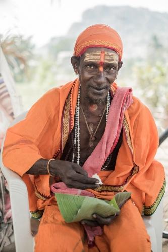 Sadhu, Hampi, India