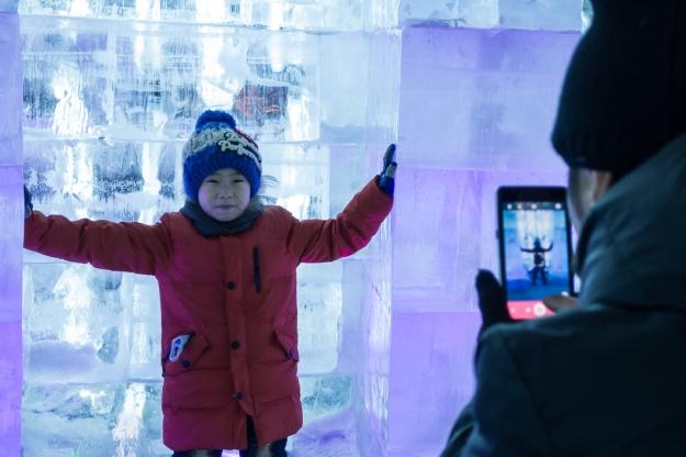 Festival de hielo, Harbin, China