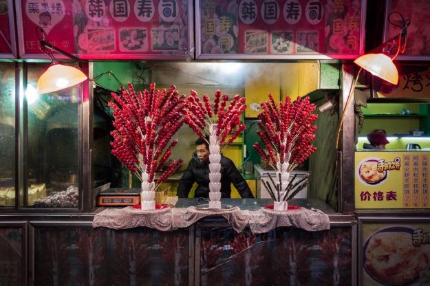 Comida callejera, Harbin, China
