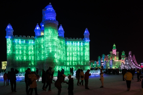 Festival de hielo, Harbin, China