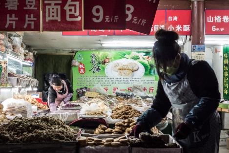 Un colmado en Beijing
