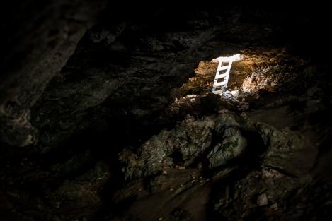 Cap de Barbaria, cueva, agujero, Formentera