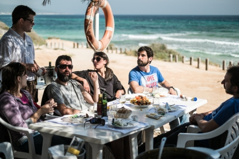 Sa Platgeta, Playa de Migjorn, Formentera