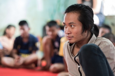 Retrato birmano