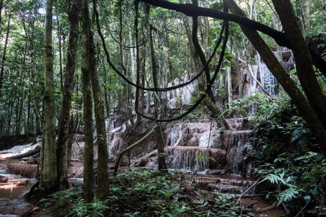 Mae Sot cascada
