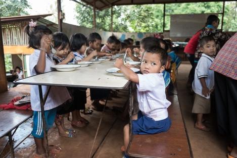 Comedor de la escuela Km.42